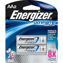 Батарейки Energizer Ultimate Lithium FR6/L91 AA - 2 шт.